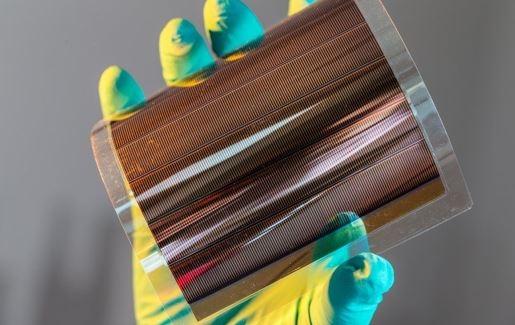 Célula Solar Orgânica (Crédito da Imagem: Instituto Fraunhofer/ Reprodução)