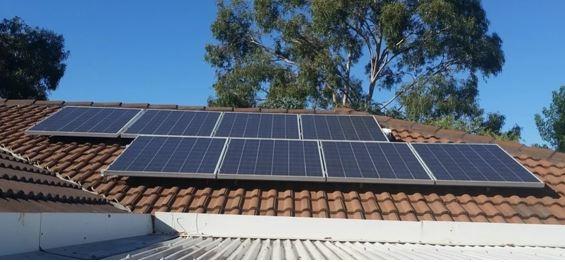 Placa Solar Instalação Energia Solar Fotovoltaica Telhado