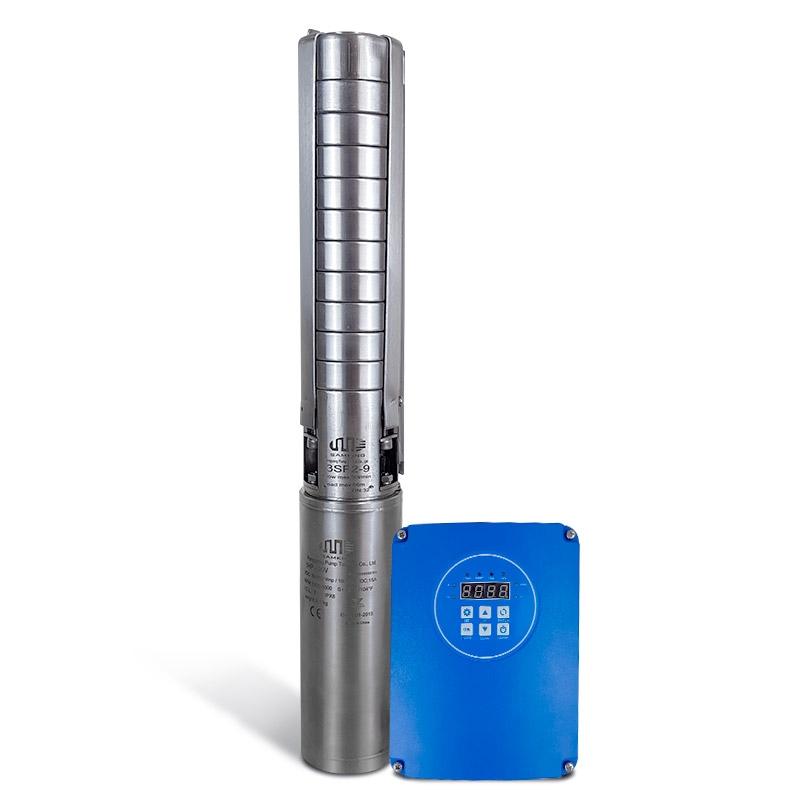 """Bomba Solar PRO Samking 1HP 3"""" 3SP2-9 - até 66m ou 24.480 L/dia"""