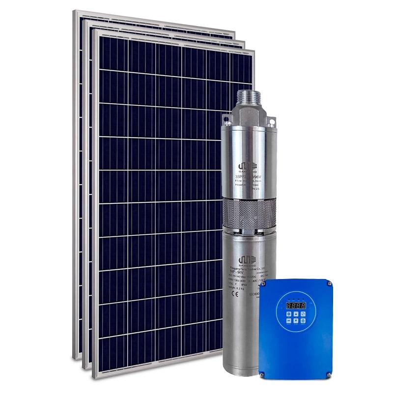 Kit Bomba Solar PRO Samking 1HP 3 3SPF2-110 STD - até 80m ou 11.760 L/dia