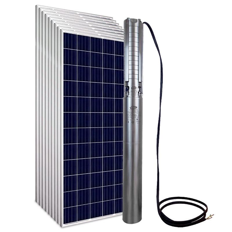 Kit Bomba Solar PRO Samking 2HP 4 4SP5-10 CC/CA MAXX - até 110m ou 59.760 L/dia