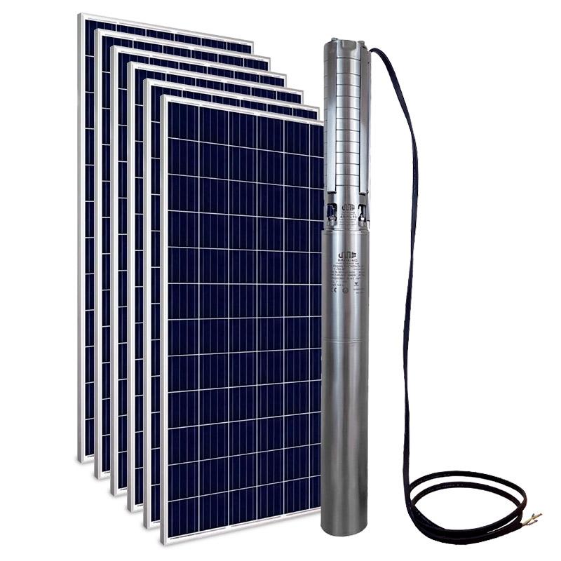 Kit Bomba Solar PRO Samking 2HP 4 4SP5-10 CC/CA STD - até 110m ou 45.720 L/dia