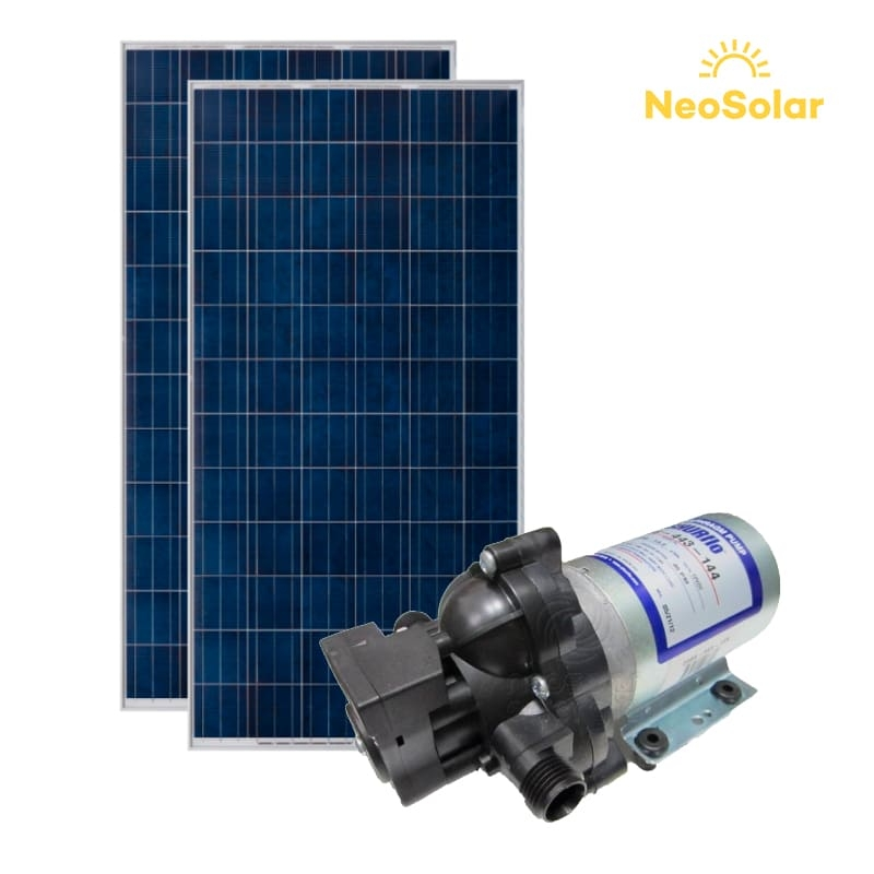 Kit bombeamento Solar 180Wp