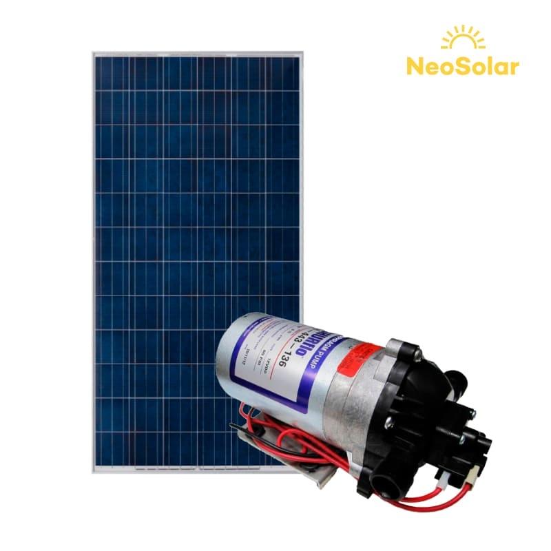 Kit bombeamento Solar