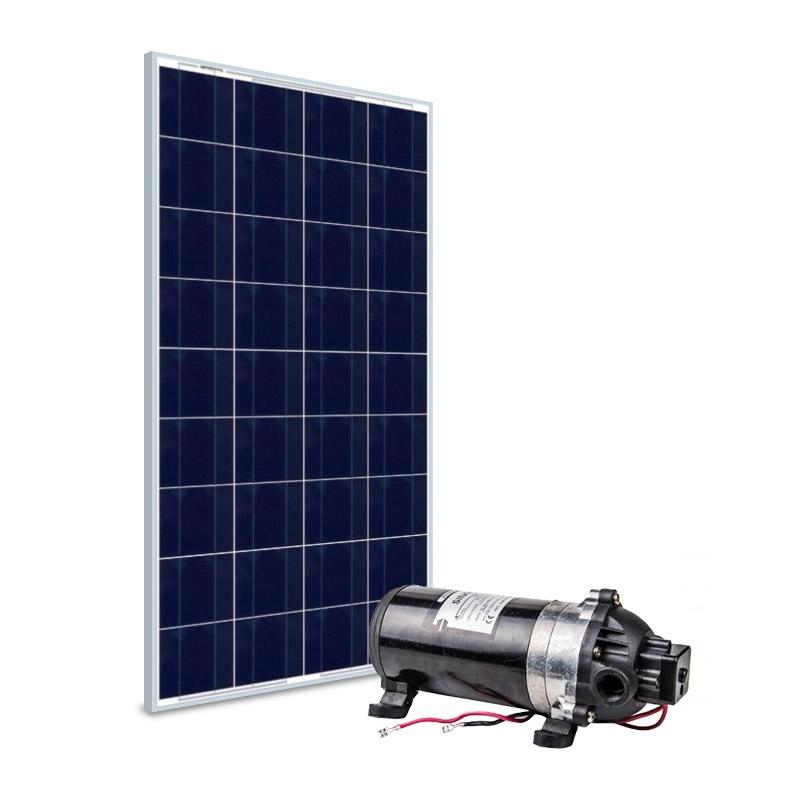 Kit Bomba Solar 12V Singflo DP-160 - até 110m ou 1.980 L/dia