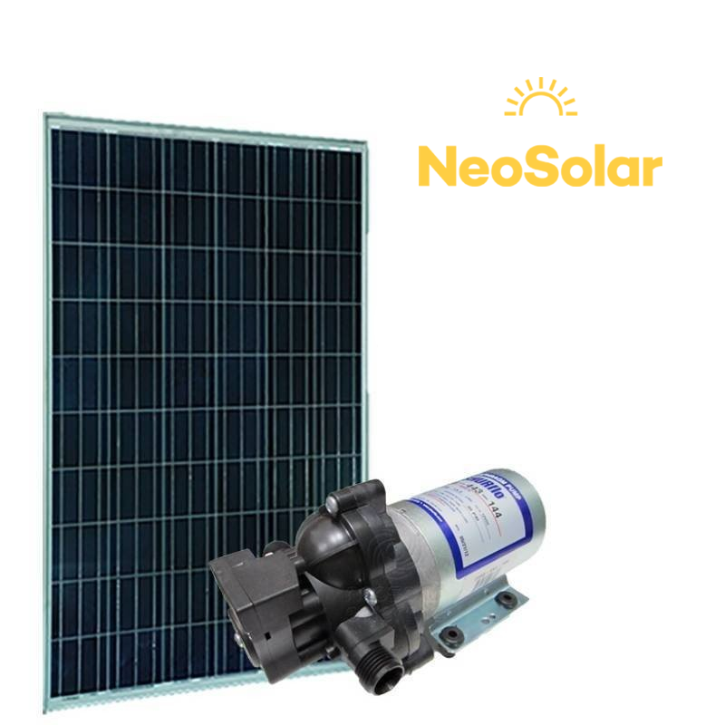 Kit Bombeamento Solar Shurflo 2088 (155Wp)