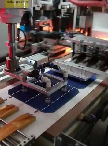 Detalhe Célula Fotovoltaica