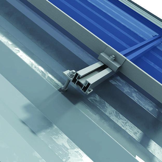 Kit Fixação em telhado Metálico e Fibrocimento Thesan