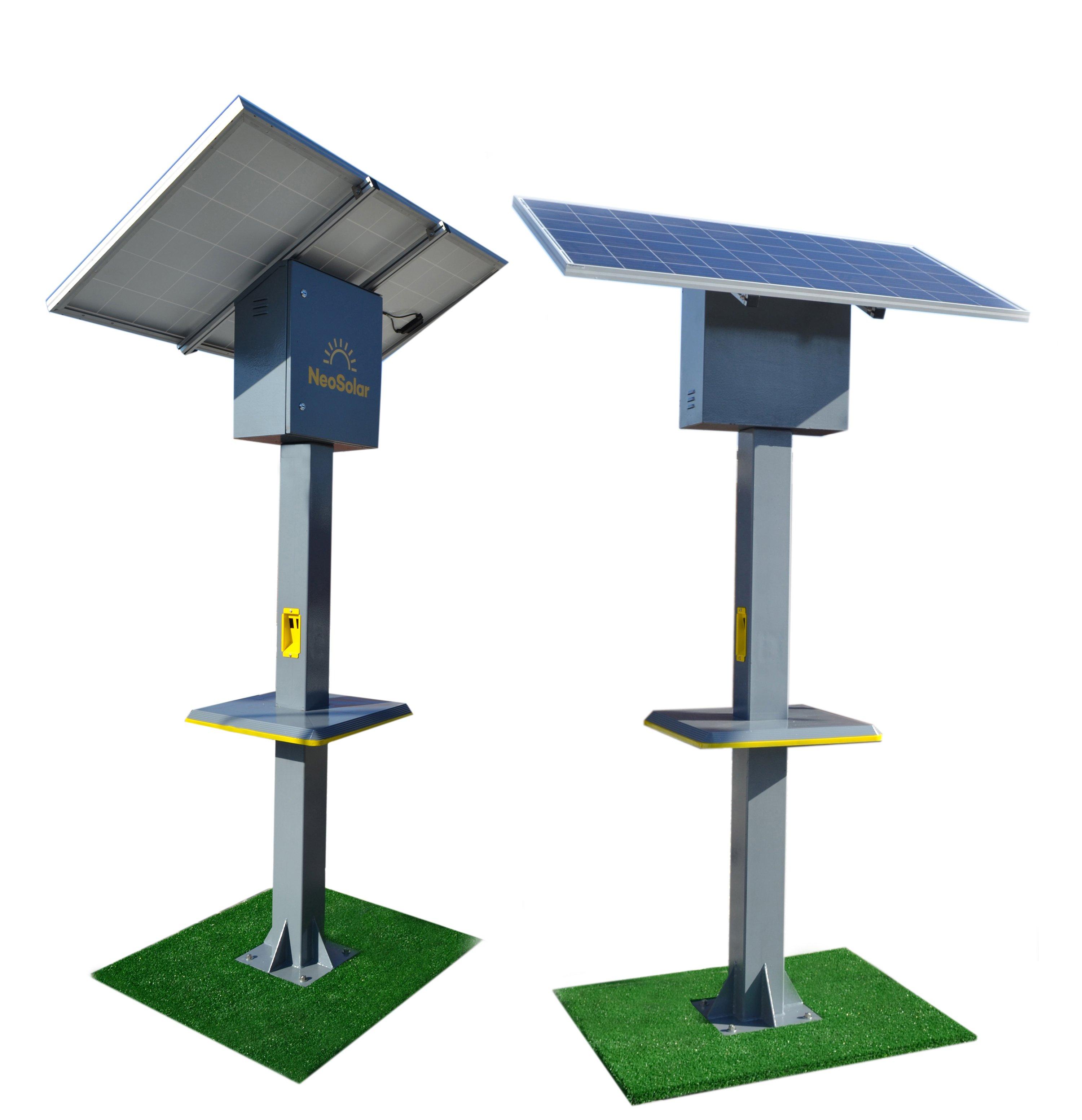 Totem Solar Carregador NeoSolar