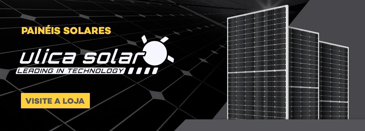 Painel Solar - Painel Solar Fotovoltaico - Módulo Fotovoltaico Ulica Solar