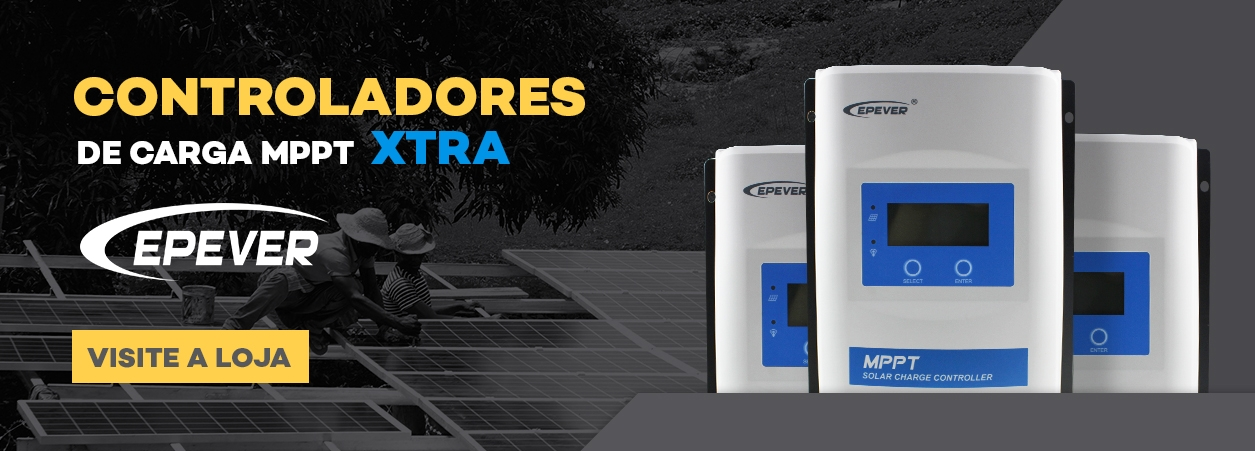 Controlador Solar - Controlador de Carga - Controlador de Carga Xtra