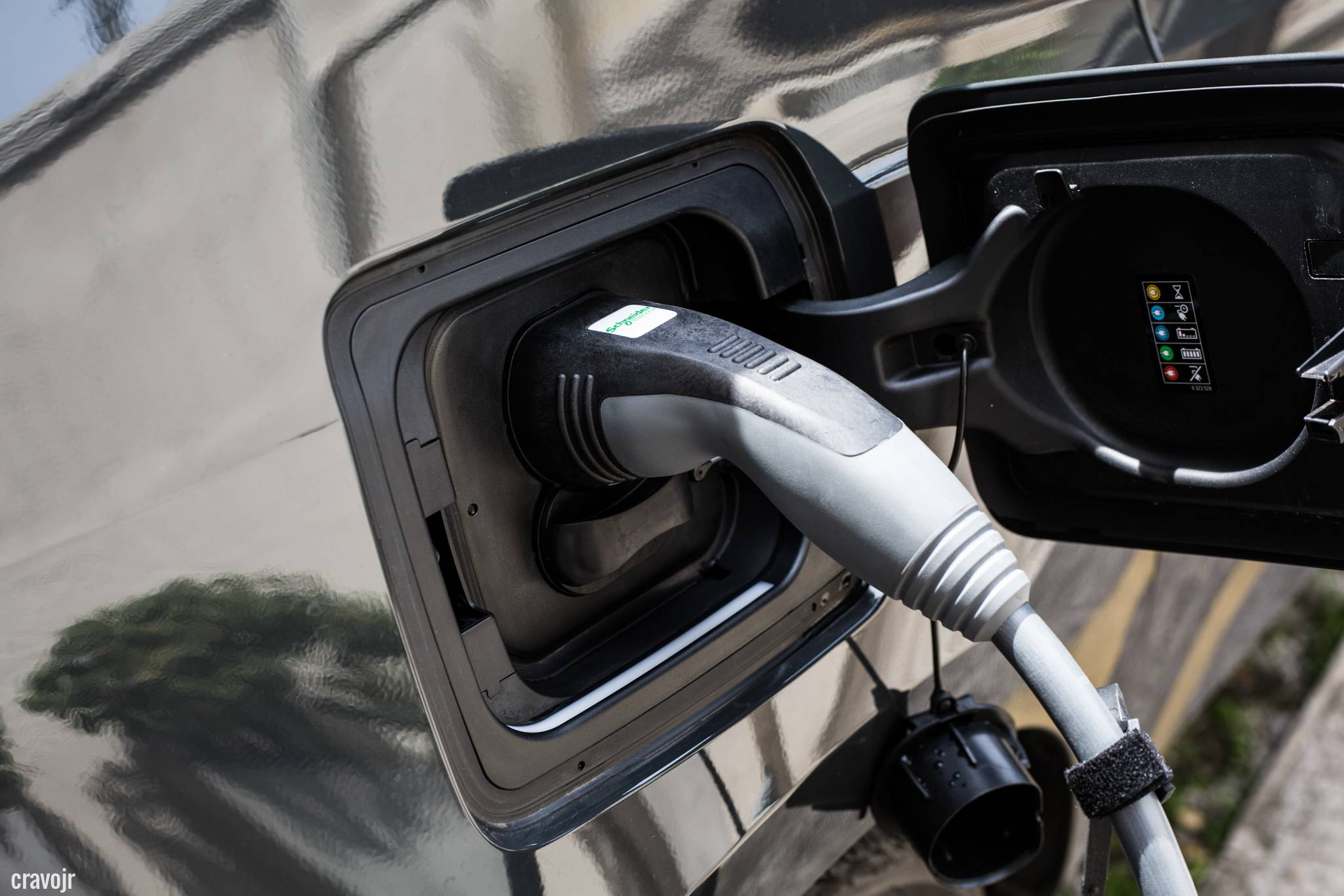 Cabo para carregador de carro elétrico conectado