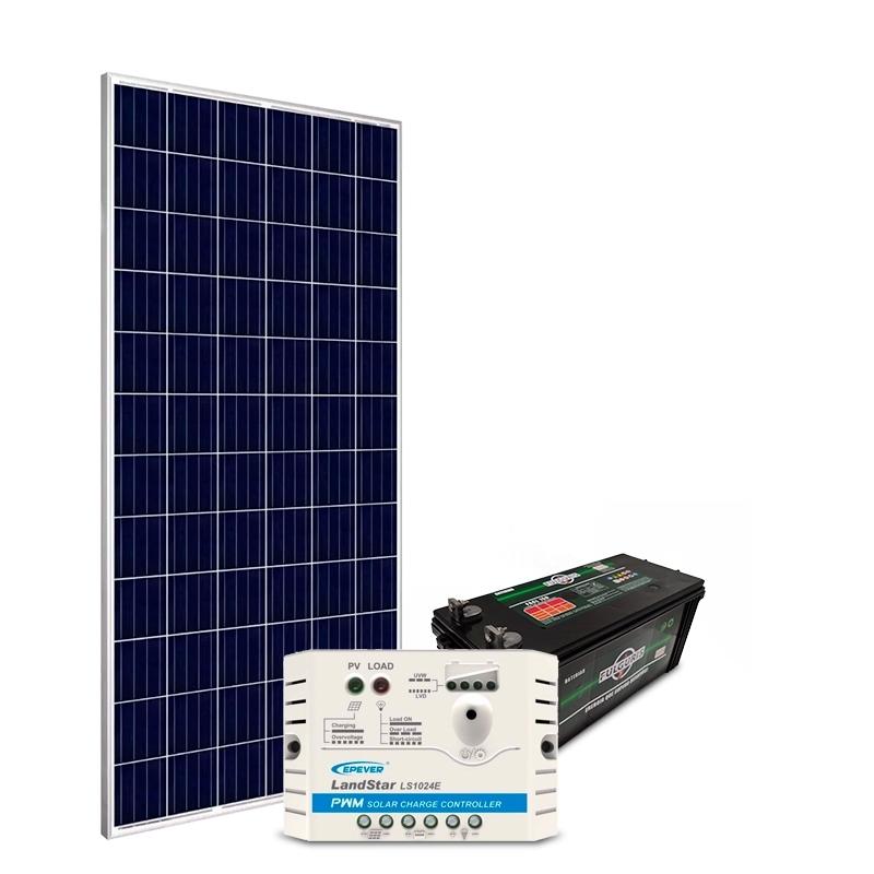 Kit Gerador Off-Grid 150Wp