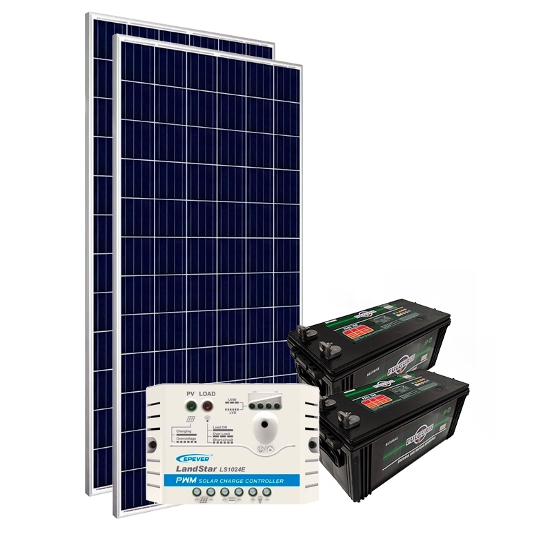 Kit Gerador Off-Grid 300Wp
